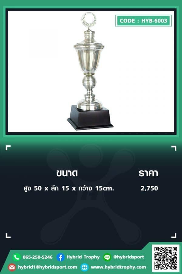 HYB 6003 ใน - รับผลิตเหรียญรางวัล โล่รางวัล ถ้วยรางวัล