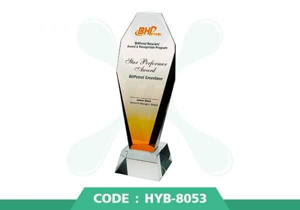 HYB 8053 ปก - รับผลิตเหรียญรางวัล โล่รางวัล ถ้วยรางวัล