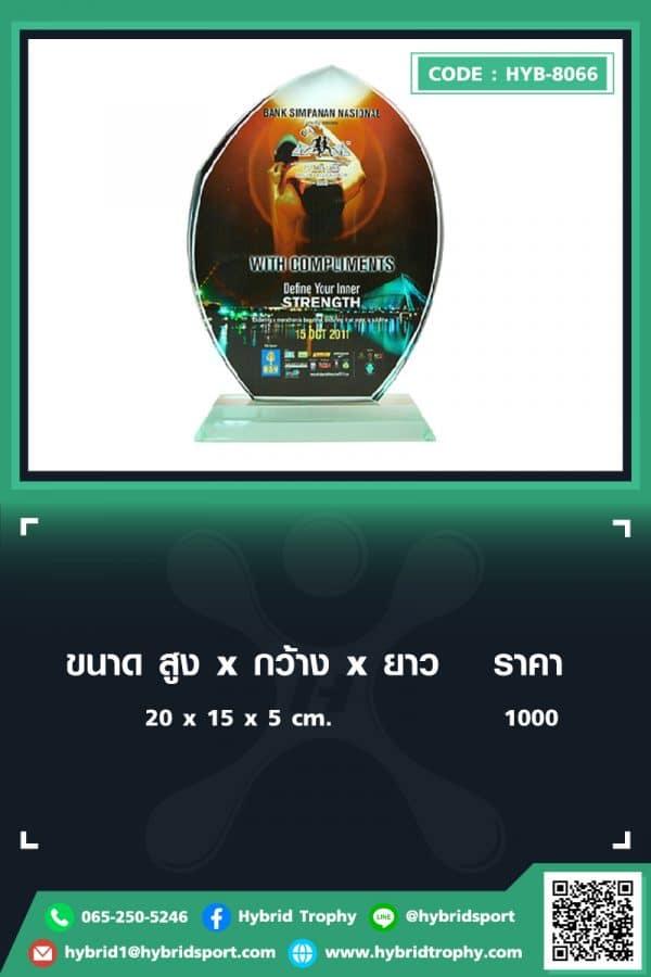HYB 8066 ใน - รับผลิตเหรียญรางวัล โล่รางวัล ถ้วยรางวัล
