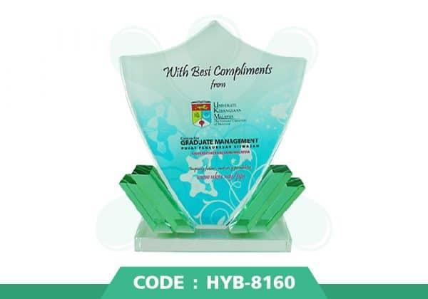 HYB 8160 ปก - รับผลิตเหรียญรางวัล โล่รางวัล ถ้วยรางวัล
