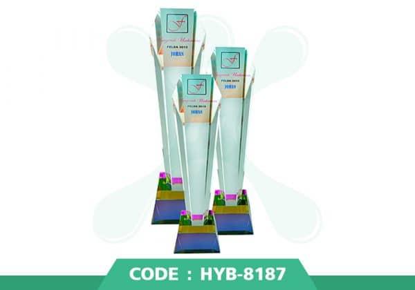 HYB 8187 ปก - รับผลิตเหรียญรางวัล โล่รางวัล ถ้วยรางวัล