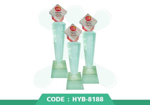 HYB 8188 ปก - รับผลิตเหรียญรางวัล โล่รางวัล ถ้วยรางวัล