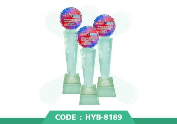 HYB 8189 ปก - รับผลิตเหรียญรางวัล โล่รางวัล ถ้วยรางวัล