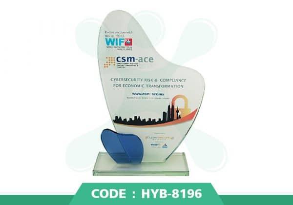 HYB 8196 ปก - รับผลิตเหรียญรางวัล โล่รางวัล ถ้วยรางวัล