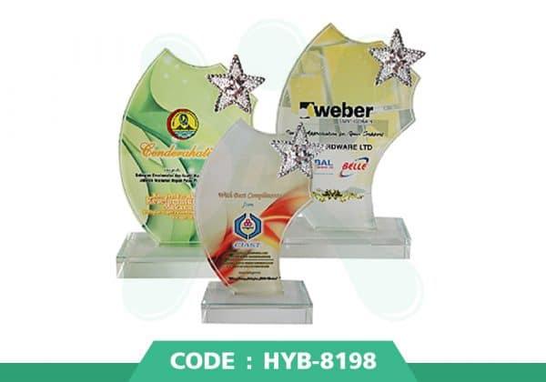 HYB 8198 ปก - รับผลิตเหรียญรางวัล โล่รางวัล ถ้วยรางวัล
