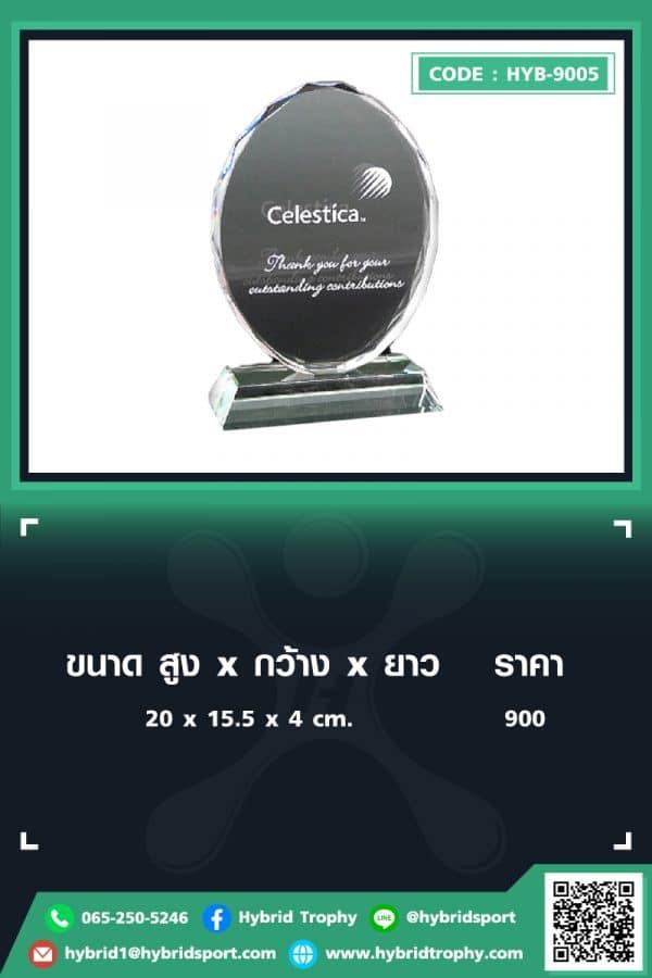 HYB 9005 ใน - รับผลิตเหรียญรางวัล โล่รางวัล ถ้วยรางวัล