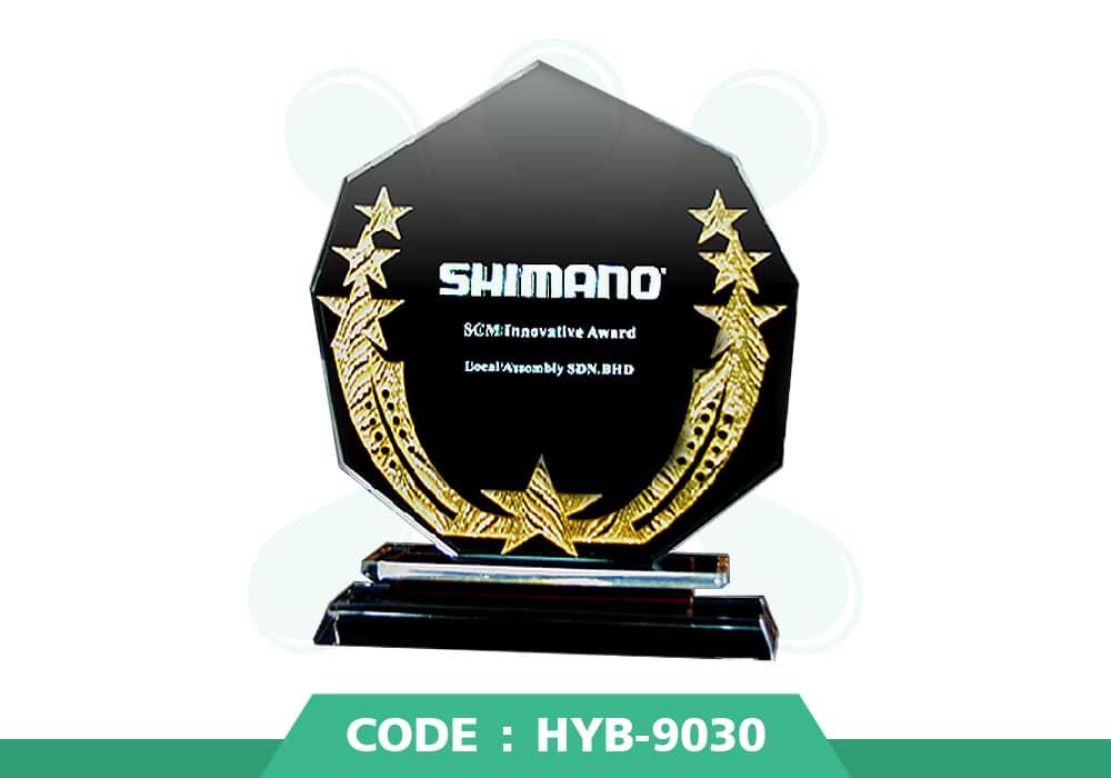 HYB 9030 ปก - รับผลิตเหรียญรางวัล โล่รางวัล ถ้วยรางวัล
